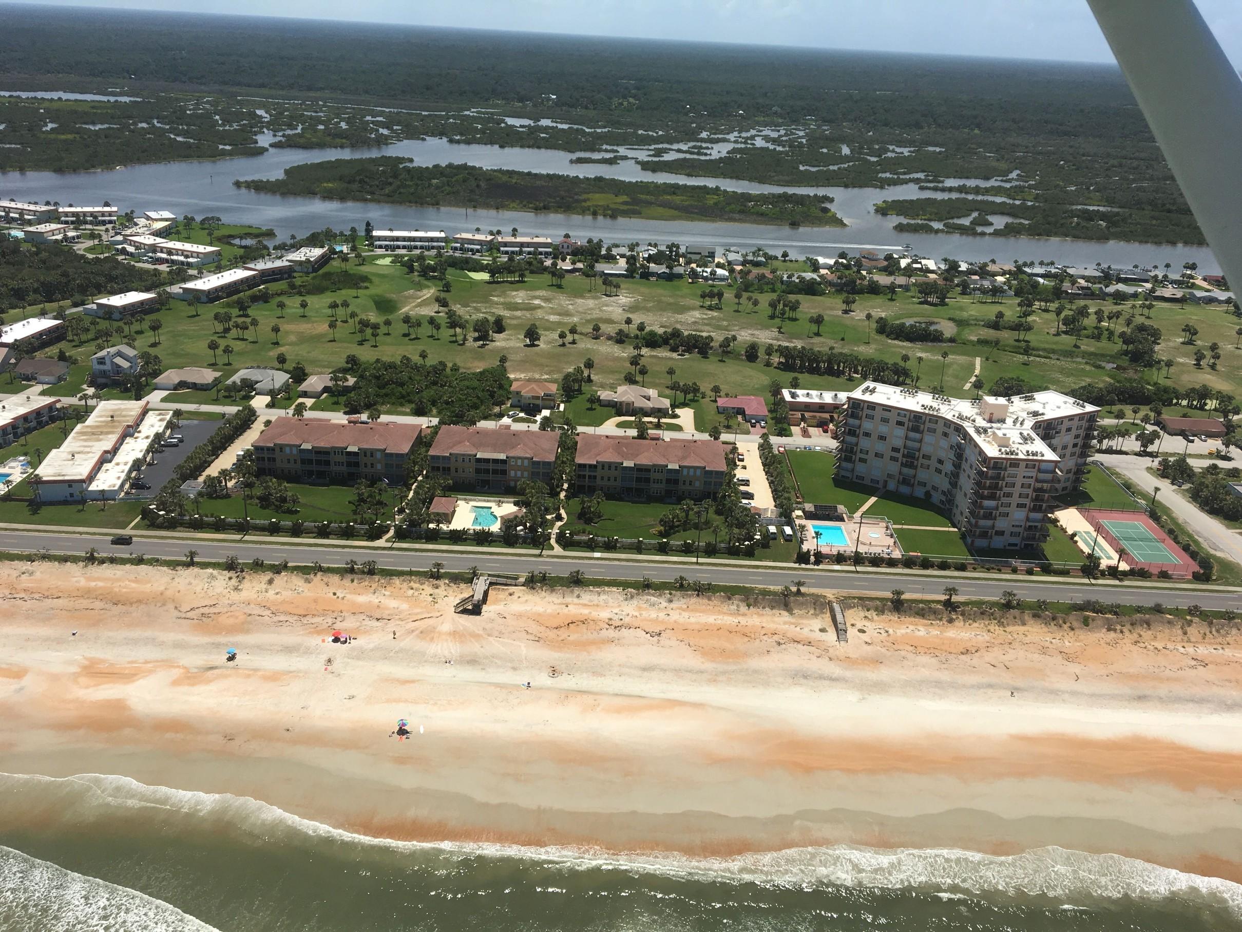 Východní pobřeží Floridy