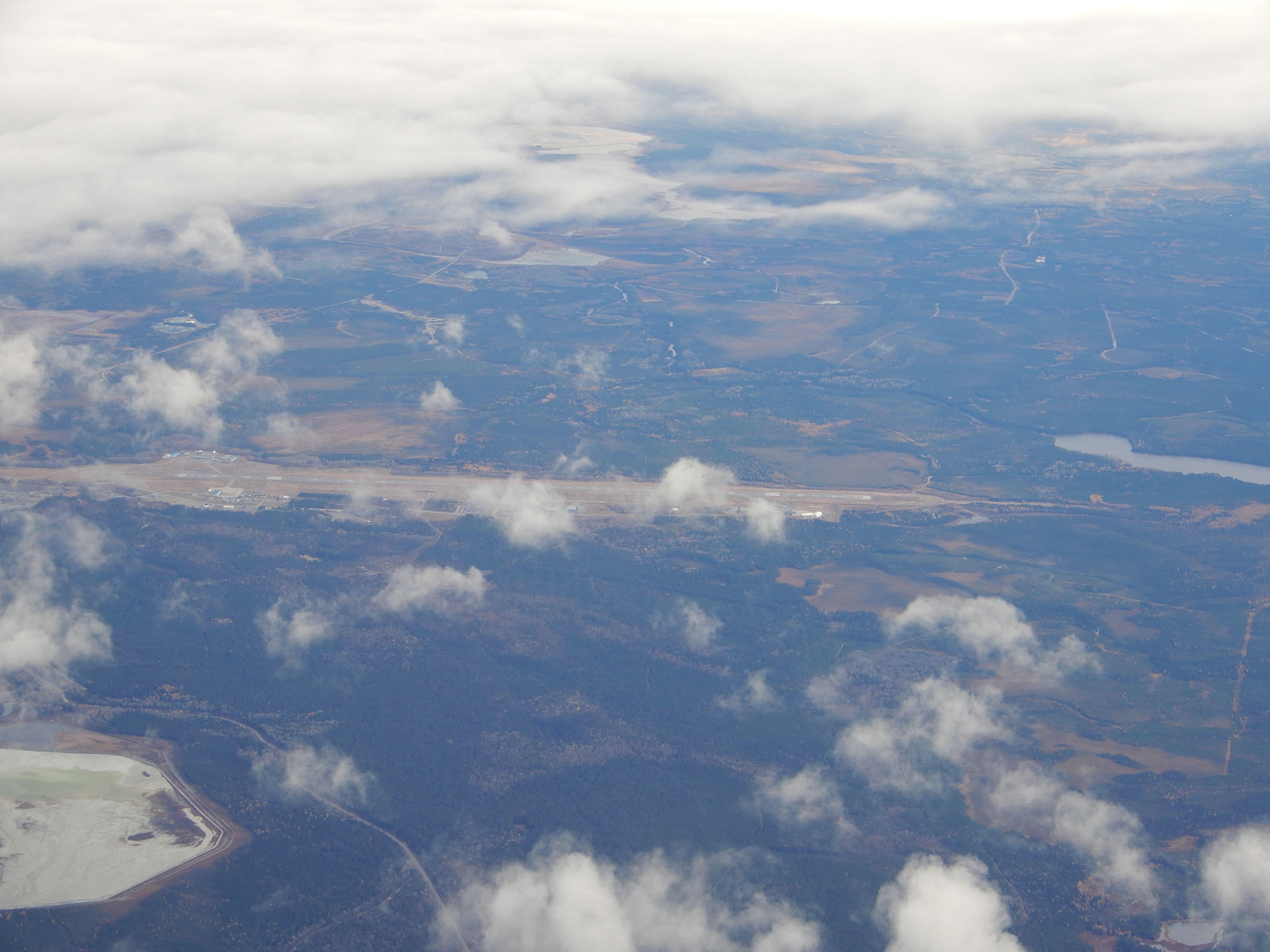 Letiště Val D 'Or (CYVO) sloužící stejnojmennému městu.