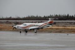 """První mezipřistání v """"divočině"""" bylo na letišti La Grande Riviere (CYGL)"""