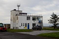 Letiště Wick, zázemí společnosti Far North Aviation, která již po mnoho let vytváří zázemí pro dodávací lety malých i větších letadel do a z USA.