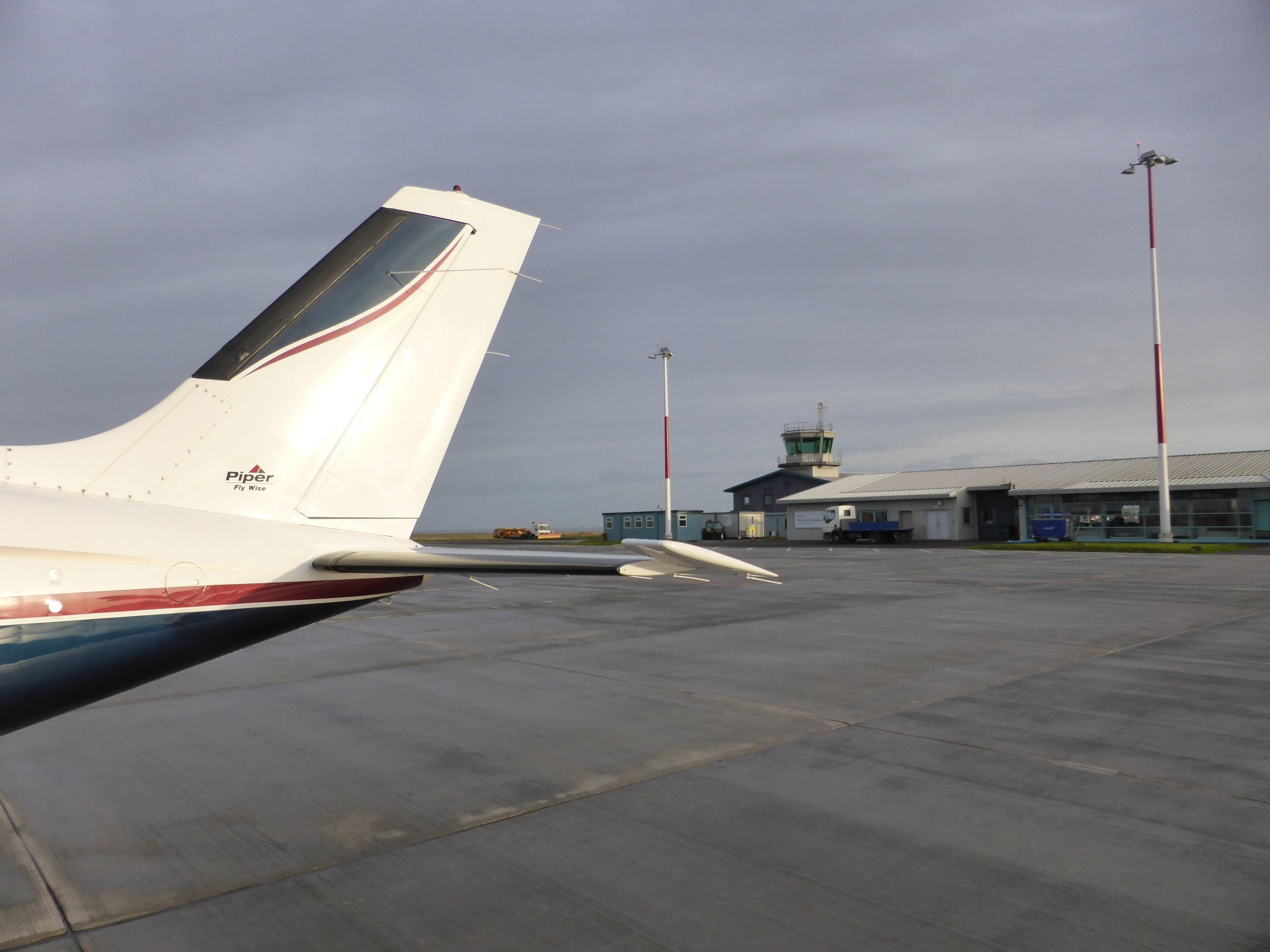 Skotské letiště Wick (EGPC)