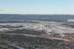 Přiblížení na kanadské letiště Goose Bay, Happy Valley (CYYR)
