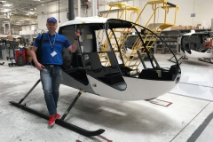 U výrobce Robinson Helicopter, Torrance, California, USA