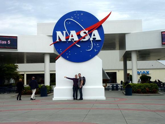 Vstup do muzea Kennedy Space Center