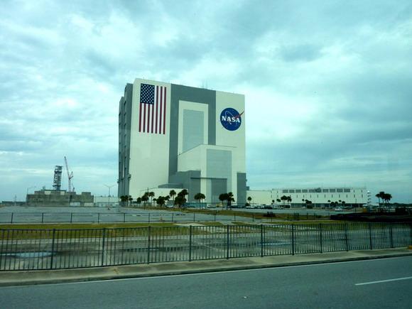 Kennedy Space Center, hlavní montážní budova pro raketoplány