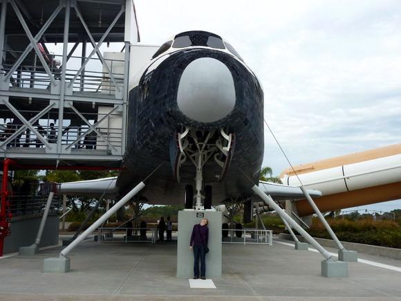 Kennedy Space Center, raketoplán Explorer
