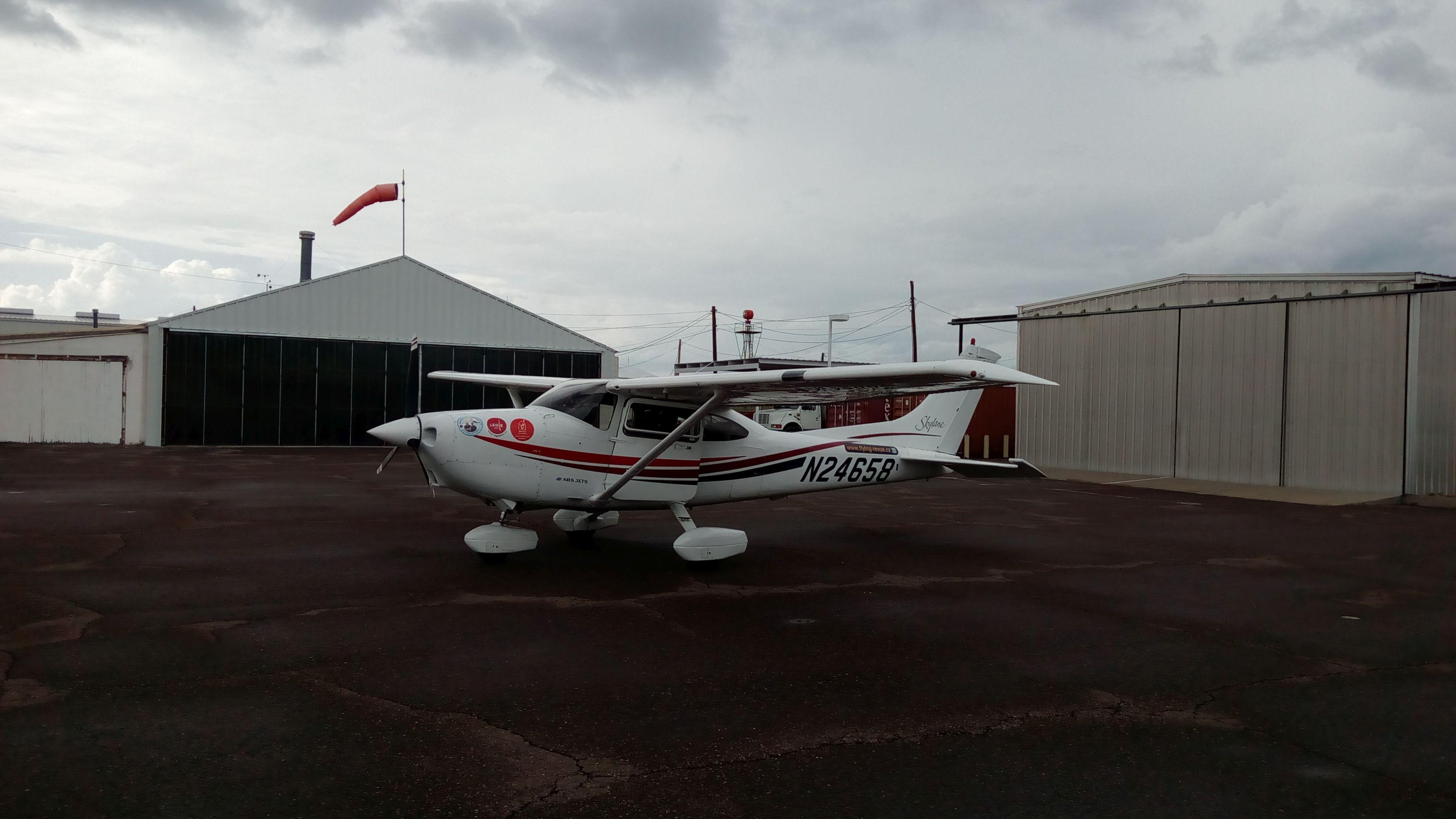 Marfa airport, Texas