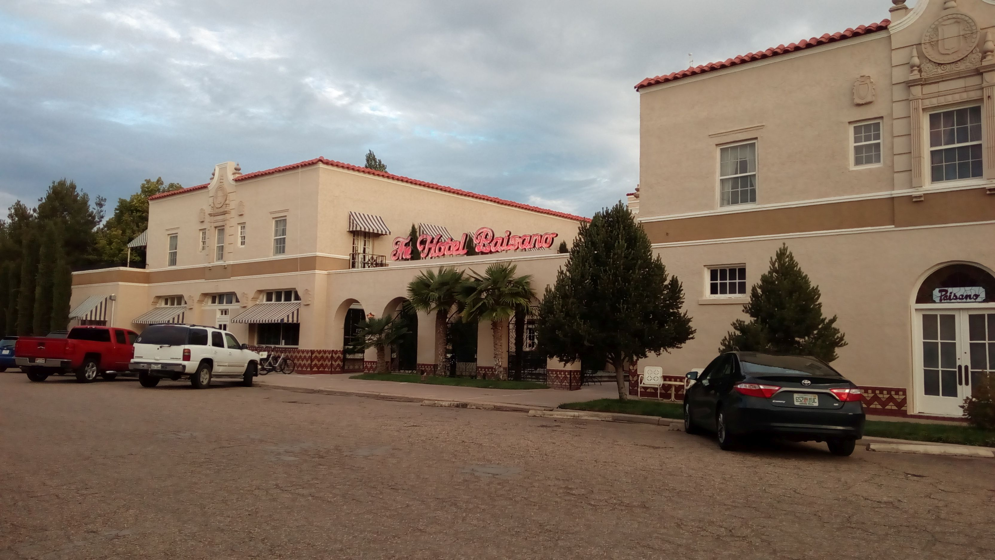 Hotel Paissano, Marfa