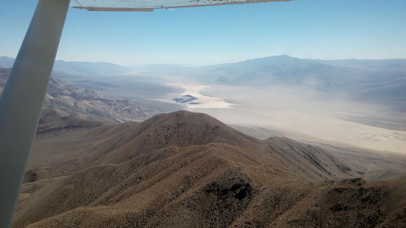 Blízko Death Valley