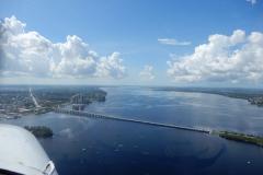 Mezi městy Punta Gorda a Fort Mayers na západní pobřeží Floridy.