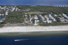Pobřeží mezi Fort Mayers a Venice Beach.