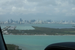 Pohled na Miami z jihovýchodu.