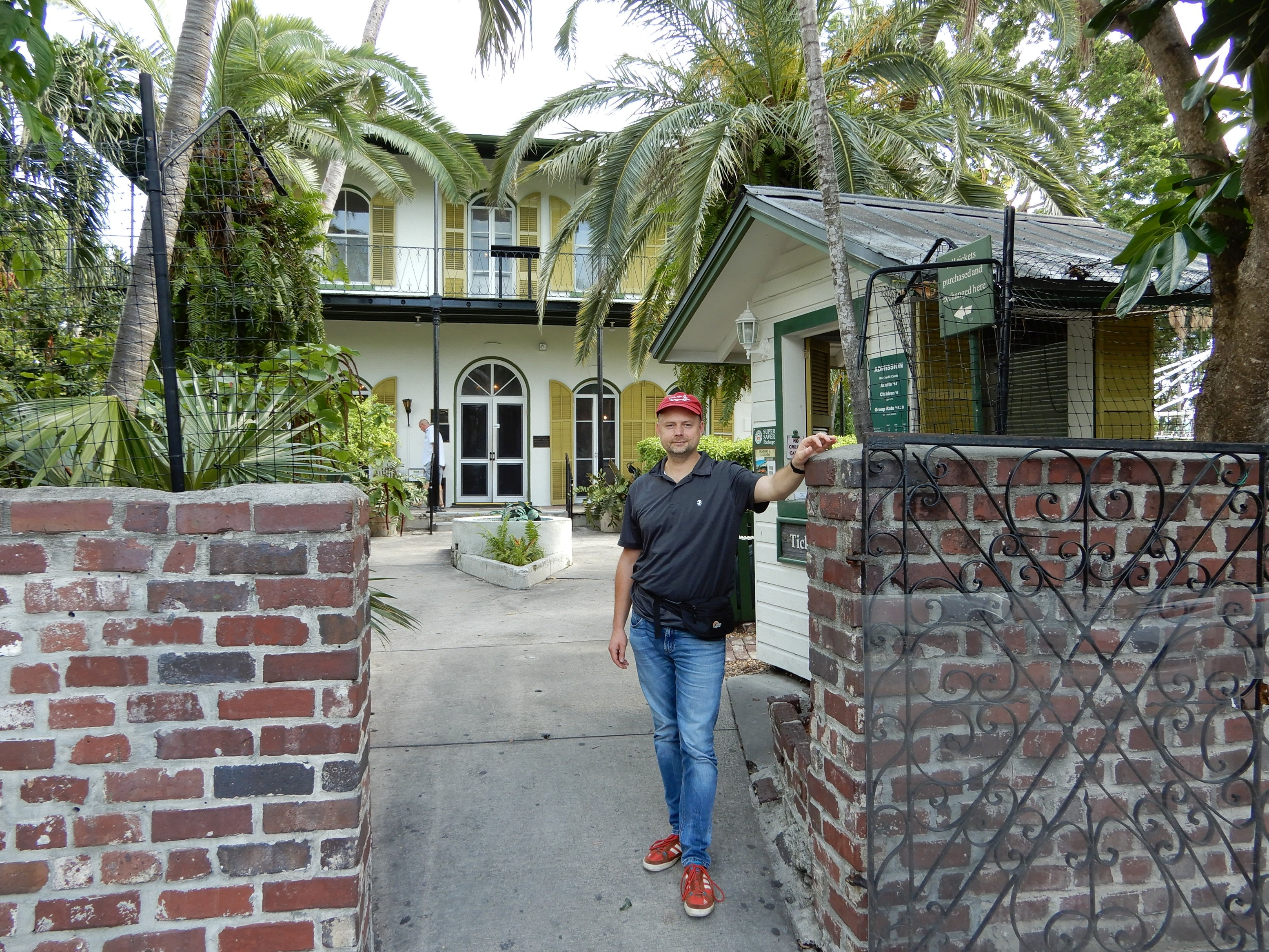Ernest Hemingway Home and Museum, Key West, Florida.
