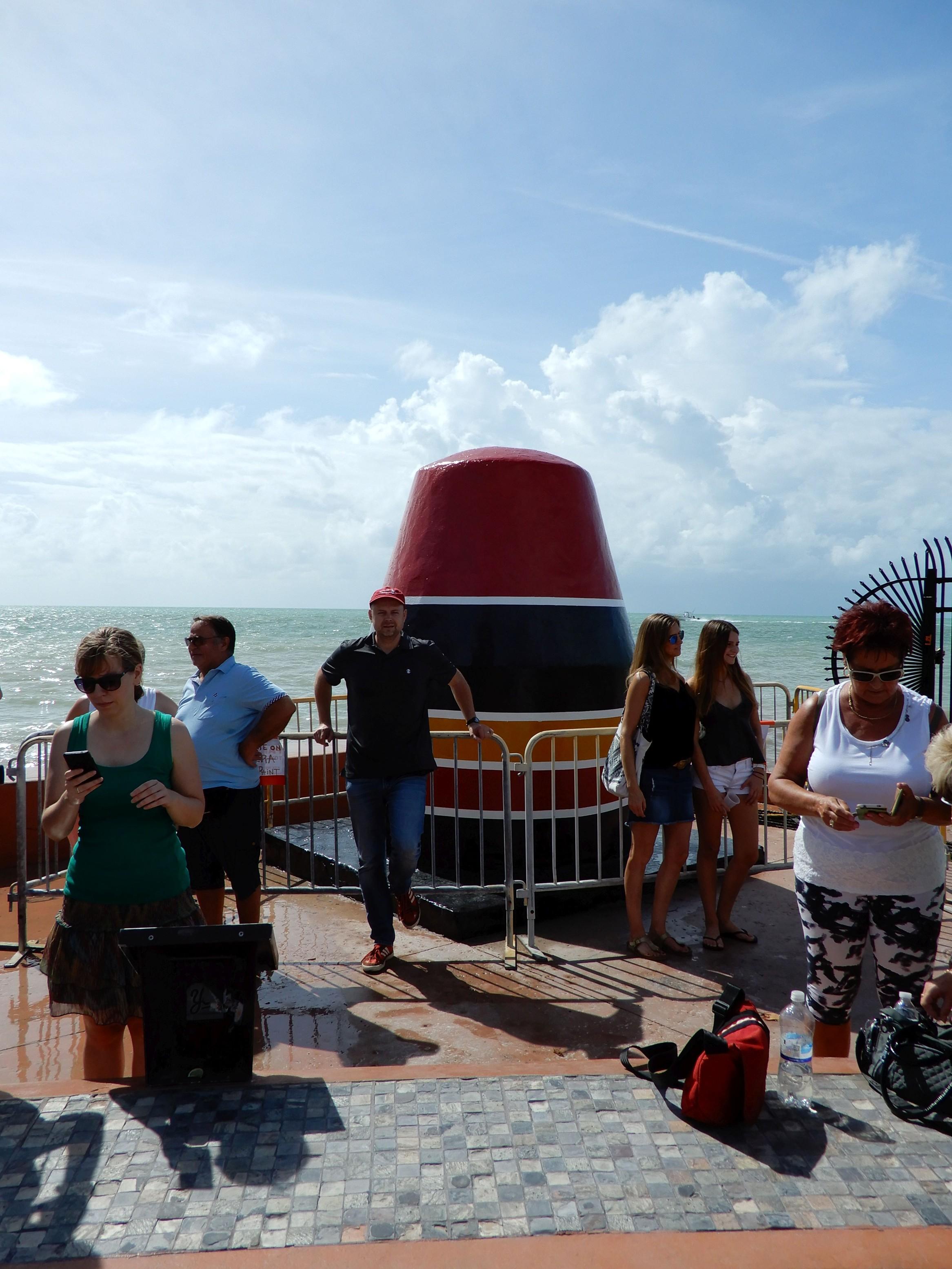 Nejjižnější bod kontinentálních spojených států. Key West na Floridě.
