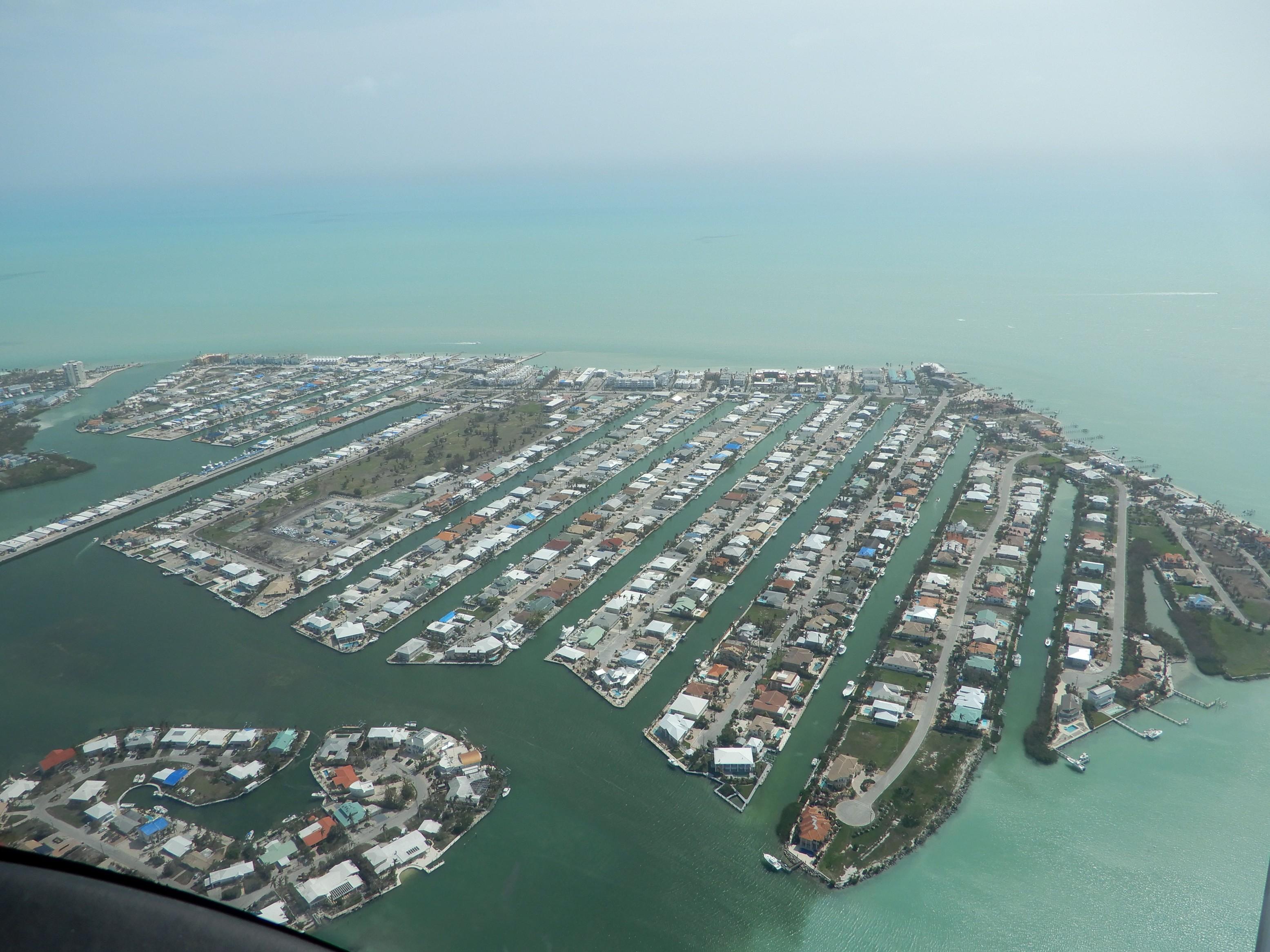 Marathon, na cestě mezi Miami a Key Westem
