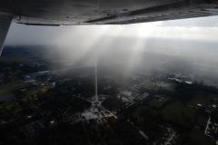 Bouřky bývají na Floridě někdy velmi malých rozměrů a mají spíše formu intenzivních přeháněk